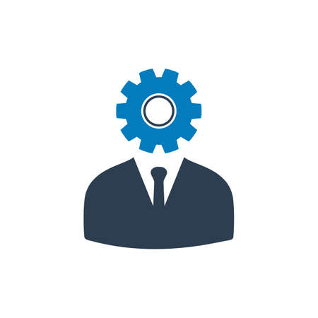 Technical Support Icon. Editable Vector EPS Symbol Illustration.  イラスト・ベクター素材