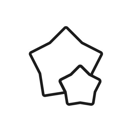 Business Ratings Line Icon. Editable Vector EPS Symbol Illustration.