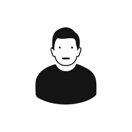 Average Experience Icon. Editable vector .