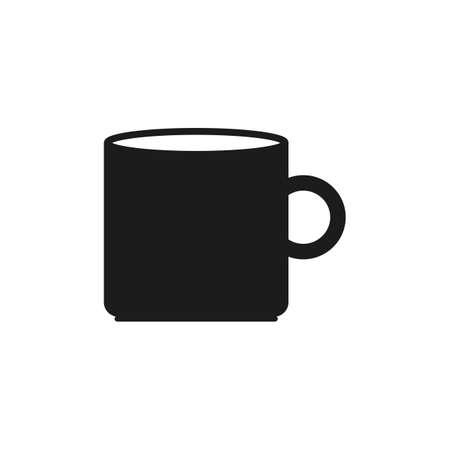 Water Mug Icon. Flat style vector EPS.