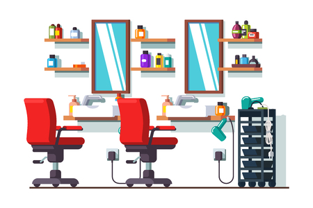 Woman beauty hairdressing salon or barber shop