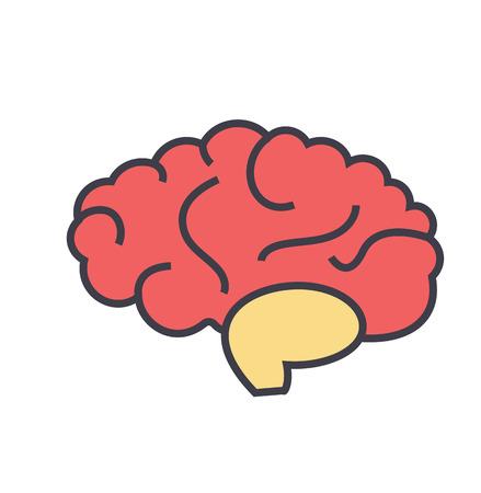 Hersenen pictogram.