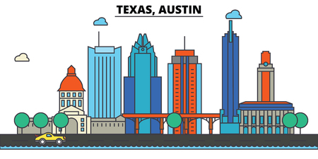 Skyline illustration. Illustration