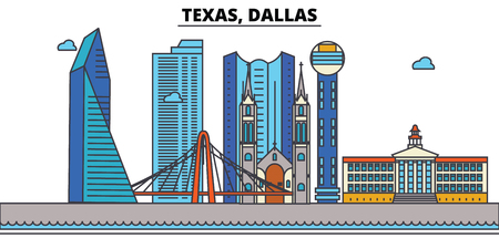 Skyline illustration. Ilustrace