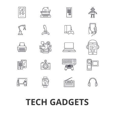 Tech gadgets icon.