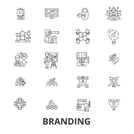 Marketing icon design Ilustração
