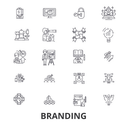 Marketing icon design Illustration