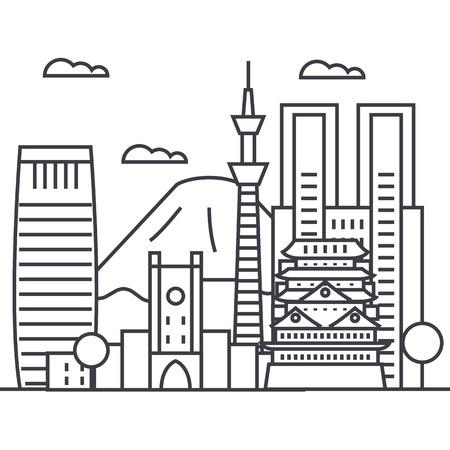 Tokyo line icon