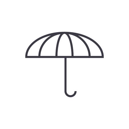Parasol line icon