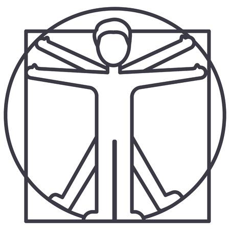 Man line icon