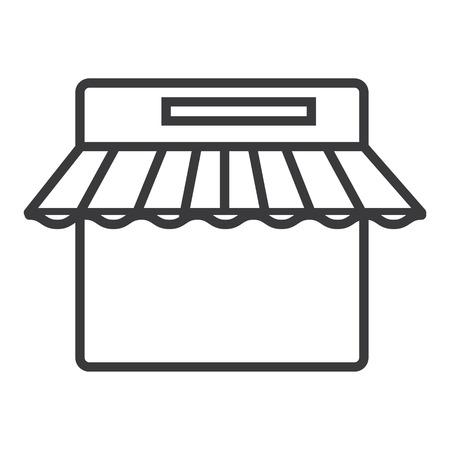 Oreilles vecteur icône de la ligne, signe, illustration sur fond blanc, traits modifiables Banque d'images - 87222060