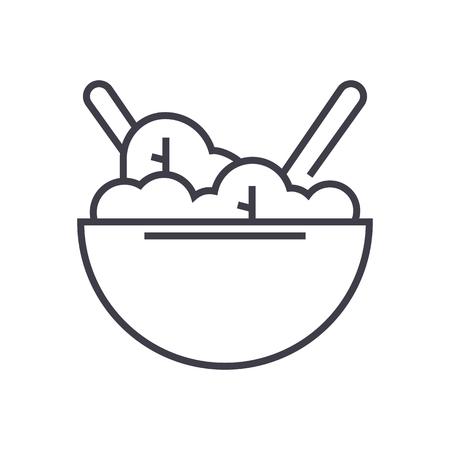 economie, gdp vector lijn pictogram, teken, illustratie op witte achtergrond, bewerkbare lijnen