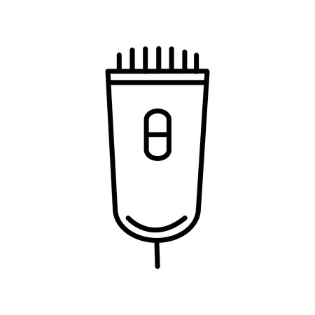 electrician vector line icon, sign, illustration on white background, editable strokes Banco de Imagens - 87222104