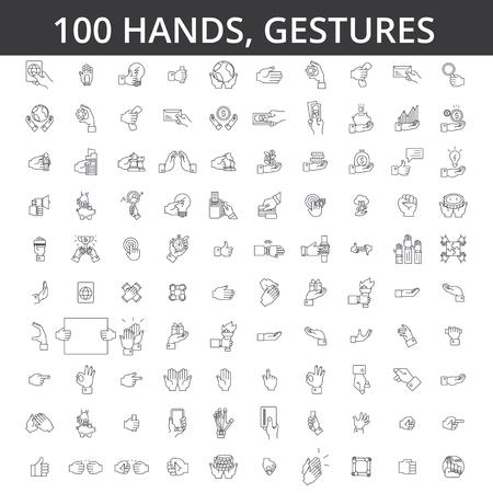 손 제스처, 터치, 손가락, 손바닥, 핸드 쉐이킹, 집게 손가락, okey, 신체 언어, 돈, 카드 라인 아이콘으로 지불.