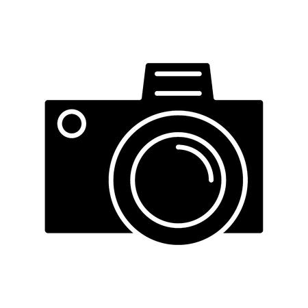 Camera simple icon.