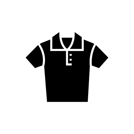 Polo shirt icon Illustration