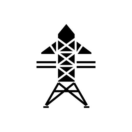 Power lijn pictogram