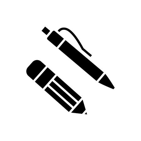 Pen en potlood pictogram