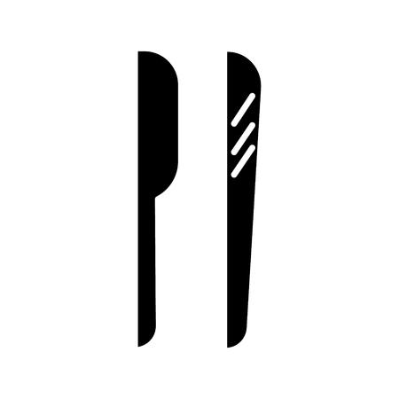 Shaving tools icon.