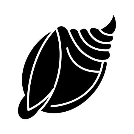 Shell große Ikone. Standard-Bild - 88101817