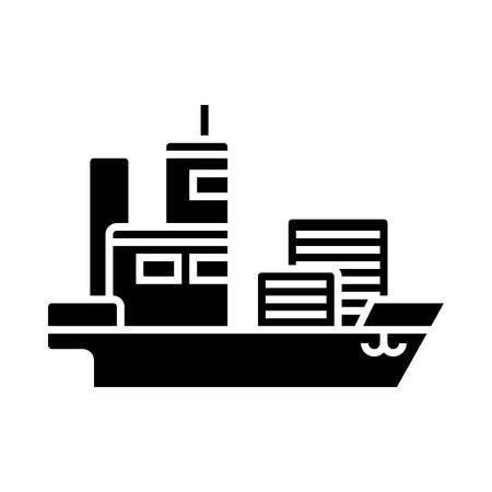 Ship cargo container.