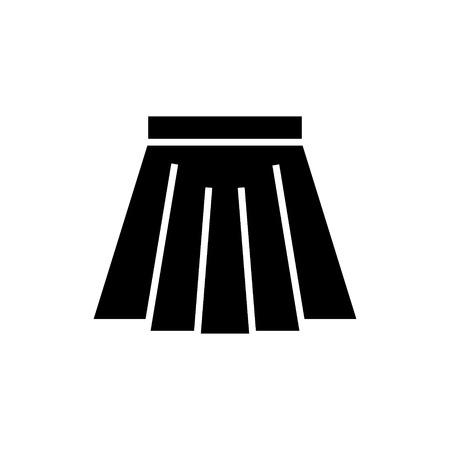 Skirt short icon