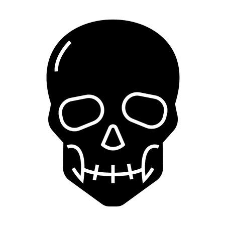 Skull icon 版權商用圖片 - 88102664