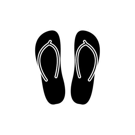 Pantofole icona Archivio Fotografico - 88102689