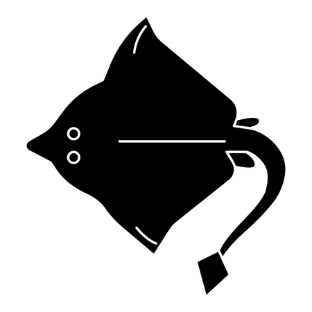 Stingray icon Illustration
