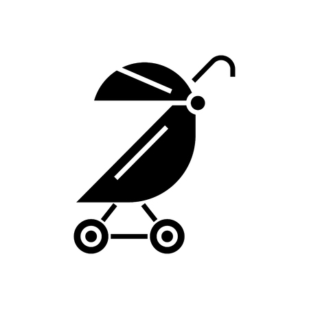 Stroller buggy icon