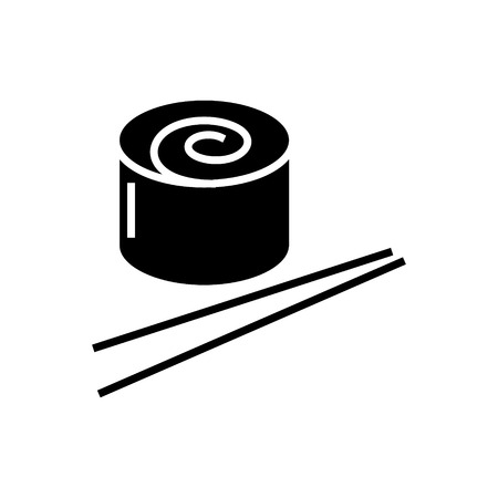 Sushi roll pictogram