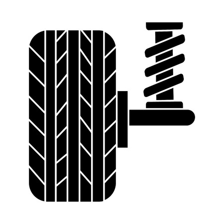 Suspension car auto icon