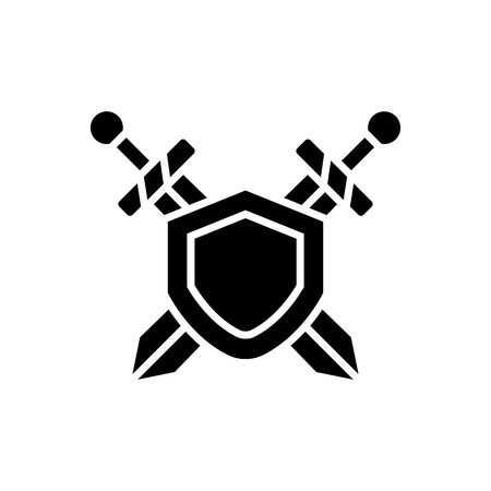 Swords protection icon