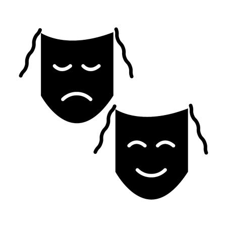 극장 마스크 표시 아이콘