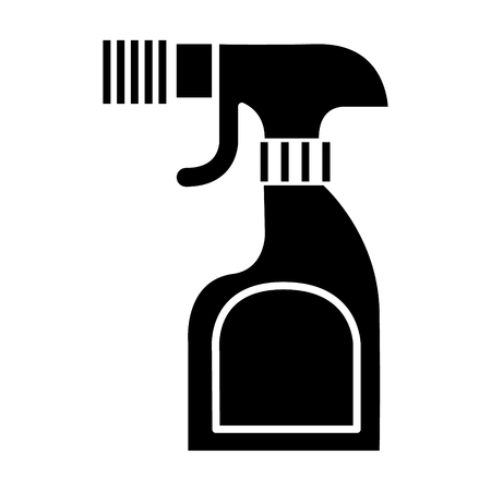 foggy spray bottle icon, illustration, vector sign on isolated background