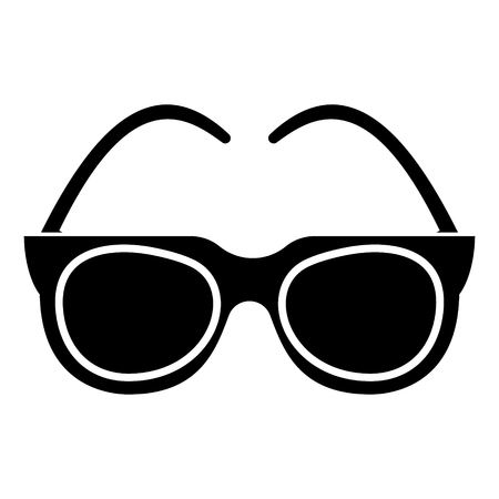 goggles - sunglasses icon, illustration, vector sign on isolated background Illustration