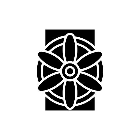 Generador, icono, ilustración, vector, señal, en, fondo aislado Foto de archivo - 88152720