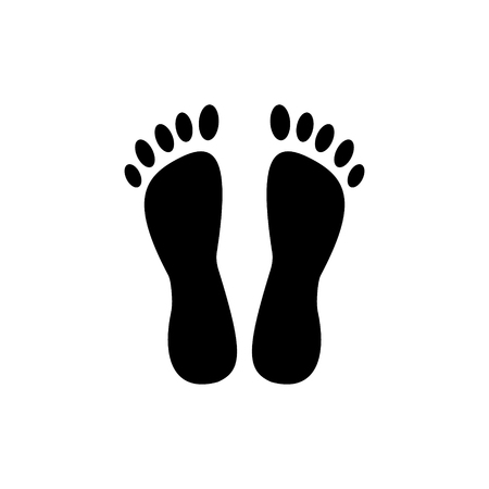 heels - pedicure icon, illustration, vector sign on isolated background