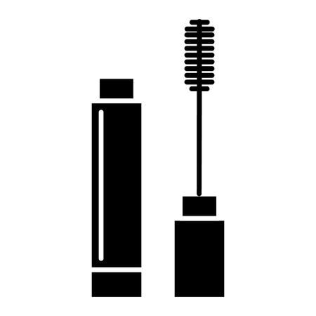 mascara icon, illustration, vector sign on isolated background Ilustração
