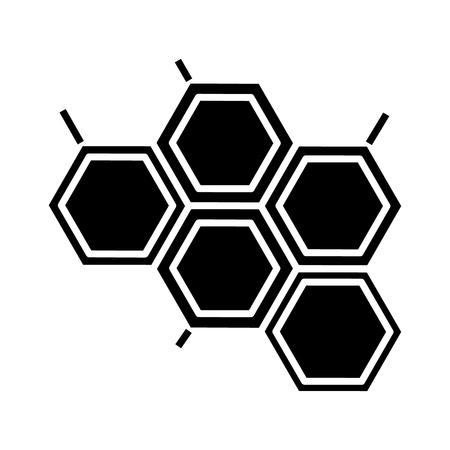 Chemische Ikone, Illustration, Vektorzeichen auf lokalisiertem Hintergrund Standard-Bild - 88157467