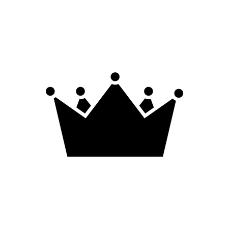 crown kings  icon, illustration, vector sign on isolated background