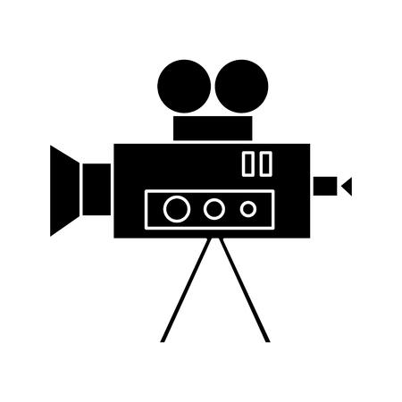 Video cinema camera vintage  icon.