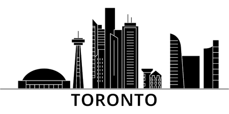 Toronto City. Illustration