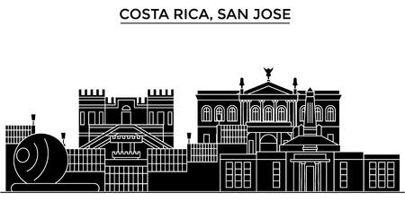 Costa Rica, San Jose architecture.
