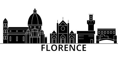 フィレンツェの建築。