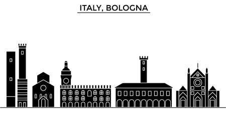 イタリア都市建築イラスト。  イラスト・ベクター素材