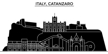 Italy city architecture illustration. Illustration