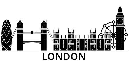 London city architecture illustration. Ilustração