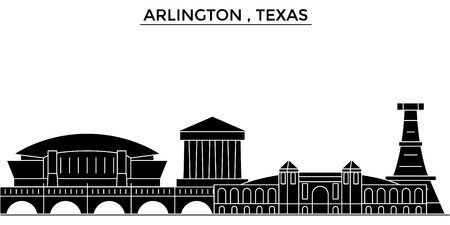 Arlington , Texas architecture city skyline