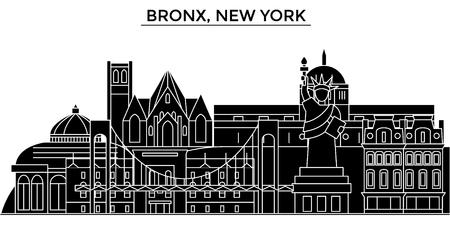브롱스, 뉴욕 건축 도시의 스카이 라인